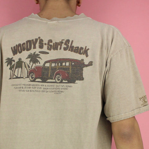 90s Woody's Surf Shack T-shirt