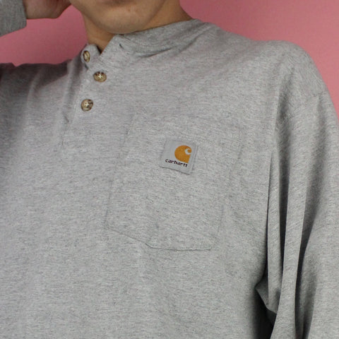 00s Carhartt Button-up Longsleeve Shirt