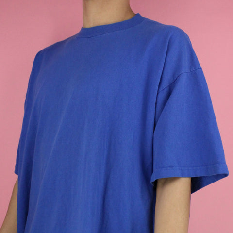 Late 90s Oversized Blank T-shirt