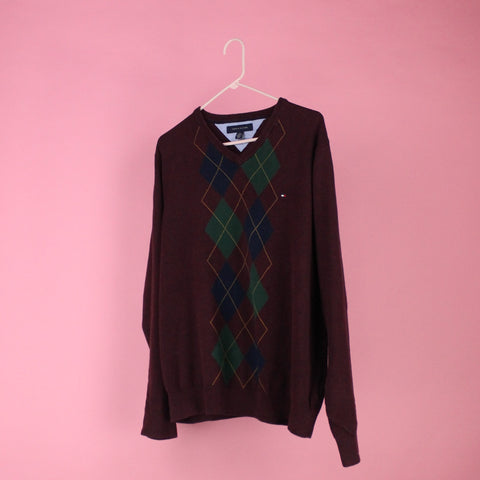 Argyle Tommy Hilfiger sweater