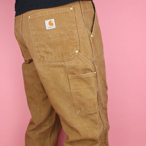 90s Carhartt Distressed Carpenter Pants