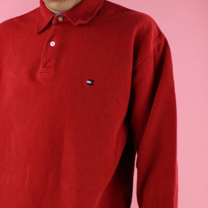 90s Tommy Hilfiger long sleeve polo