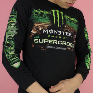 00s Monster Energy SuperCross Longsleeve Shirt