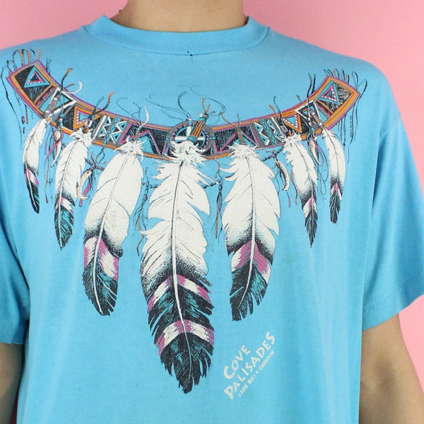 1992 Tribal Feather Shirt