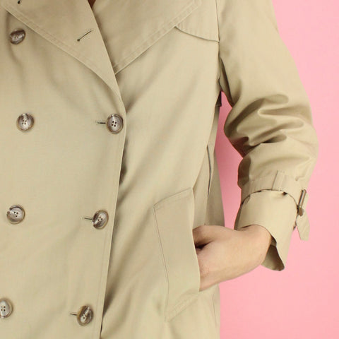 1960s London Fog Vintage Trench Coat