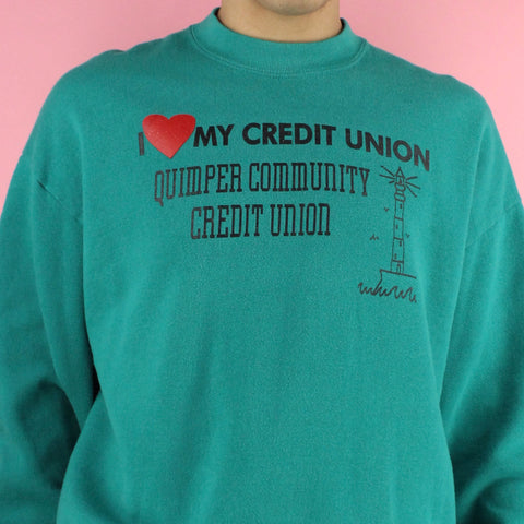 1994 I Love My Credit Union Sweater