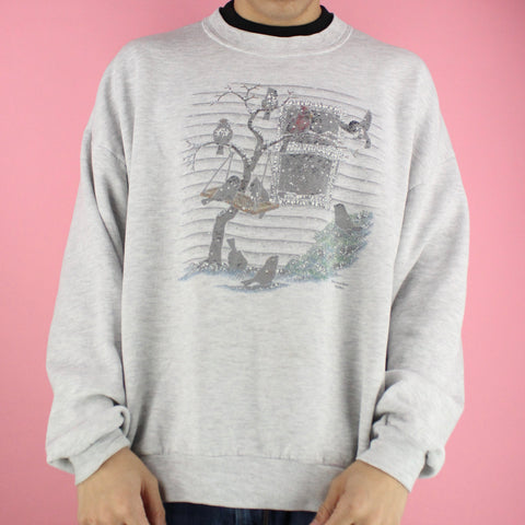 80s Morning Sun Birdhouse Crewneck