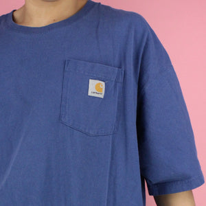 00s Carharrt Blue Shirt