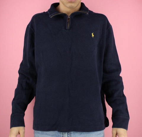 90s Polo Ralph Lauren 1/4 Zip Sweater