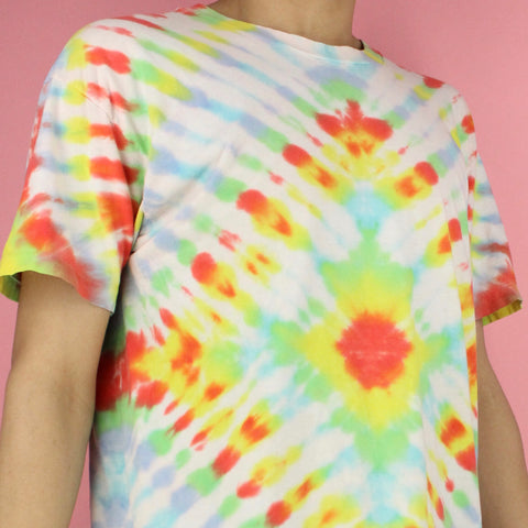 1990s Single Stitch Tie Dye Shirt