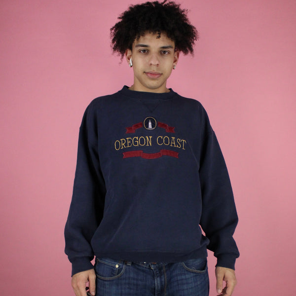90's Oregon coast crewneck