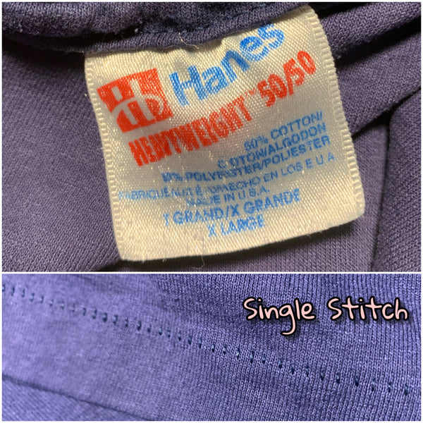 "Early 90s Hanes 50/50 ""6"" Shirt"