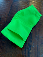 Lime Green Face Mask Youth (3-6 yrs)