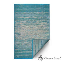 Fab Habitat Reversible Indoor/Outdoor Weather Resistant Floor Mat/Rug-Rugs-Gertmenian-Cruzan Sand