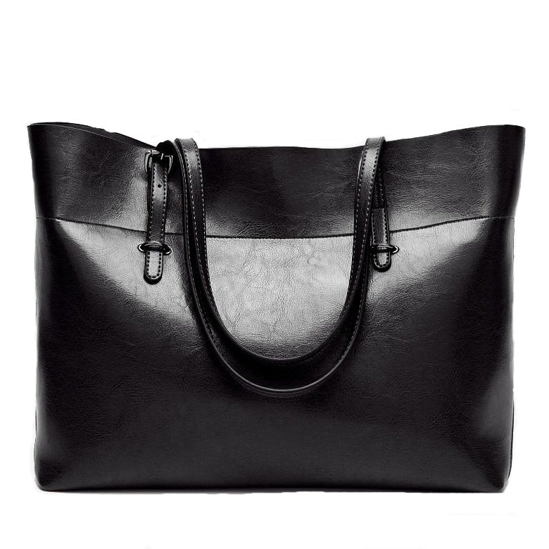 Tiney's Classic Vegan Leather Tote