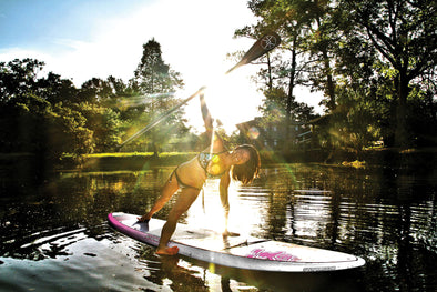 SUP Yoga and Nature's Rhythms