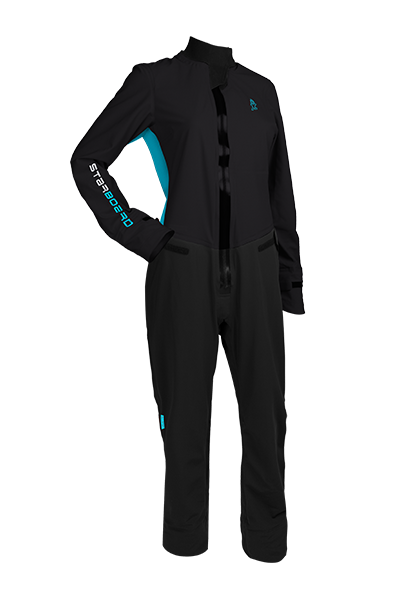 2019 STARBOARD WOMENS LONG SLEEVE SUIT LYCRA - BLACK - XL