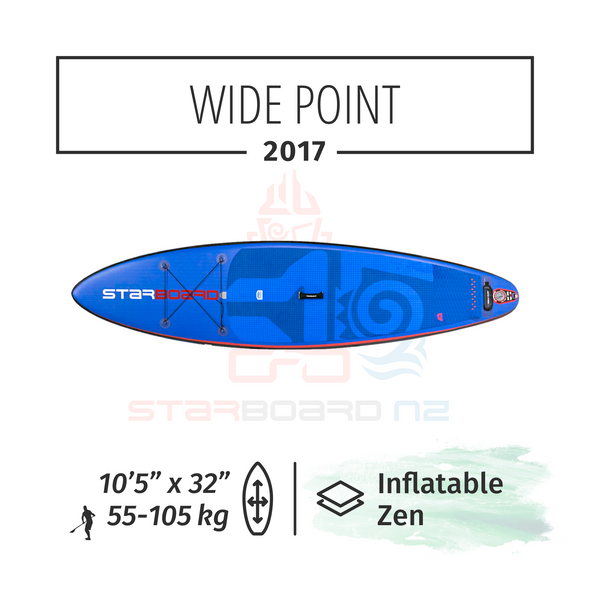 2017 10'5 X 32 X 4.75 WIDE POINT ZEN - EX DEMO