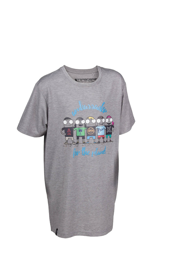 2019 STARBOARD KIDS PROTECT OUR PLANET TEE - WHITE
