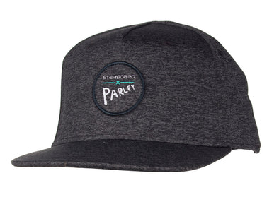 2019 STARBOARD PARLEY FLAT CAP - HEATER BLACK - OSFA