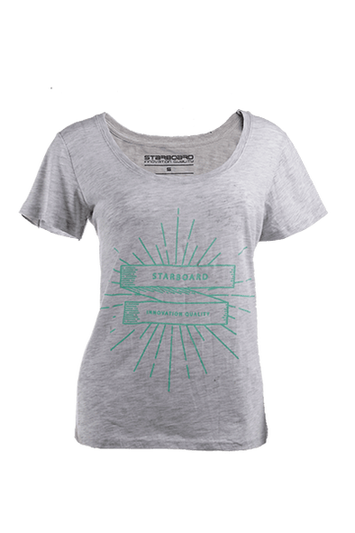 2019 STARBOARD WOMENS ONE TON TEE - WHITE