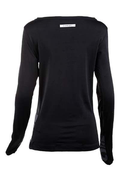 2019 STARBOARD WOMENS LONG SLEEVE LYCRA - BLACK - XS