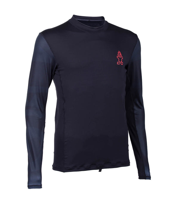 2019 STARBOARD MENS LONG SLEEVE LYCRA - BLACK - M