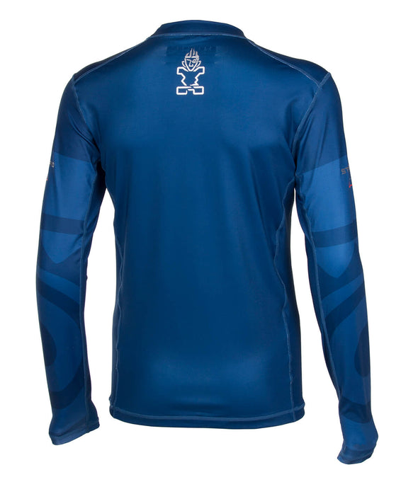2019 STARBOARD MENS LONG SLEEVE LYCRA - TEAM BLUE - S