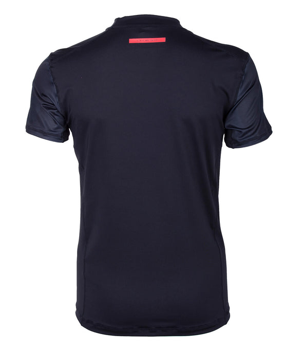 2019 STARBOARD MENS SHORT SLEEVE LYCRA - BLACK - S