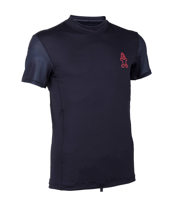 2019 STARBOARD MENS SHORT SLEEVE LYCRA - BLACK - M