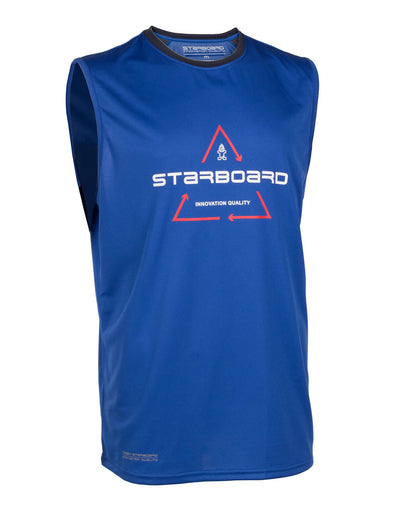 2019 STARBOARD MENS SLEEVELESS WATERSHIRT - TEAM BLUE