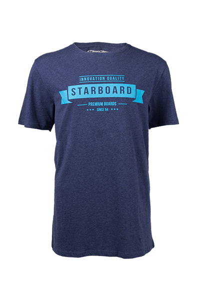 2019 STARBOARD SWITZERLAND DESTINATION TEE - NAVY