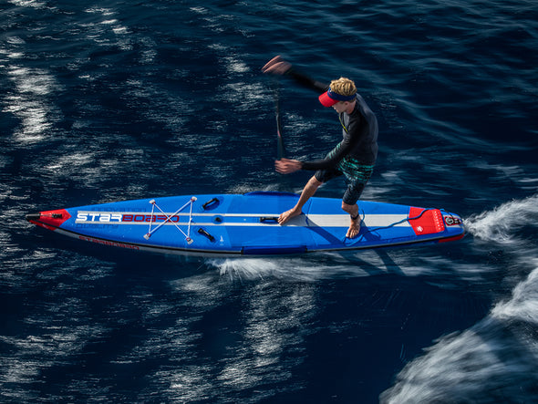 The Starboard All Star Airline technology is the fastest, stiffest & most rigid race technology in an inflatable board.