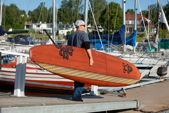 "10' X 34"" WHOPPER TERJE HAAKONSEN PADDLE BOARD - EX DISPLAY"