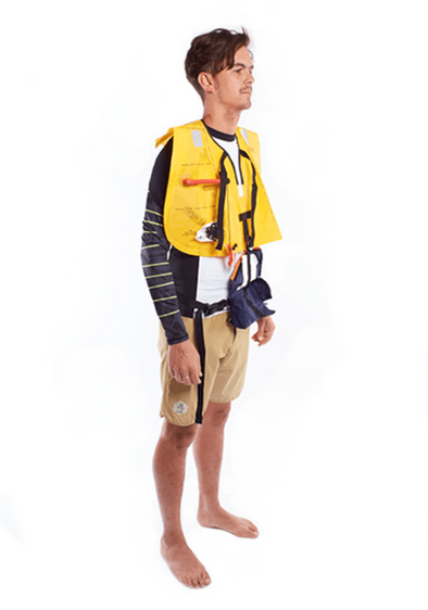 STARBOARD INFLATABLE LIFE BELT 150N