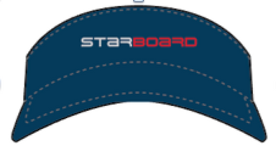 STARBOARD  PERFORMANCE VISOR - TEAM BLUE