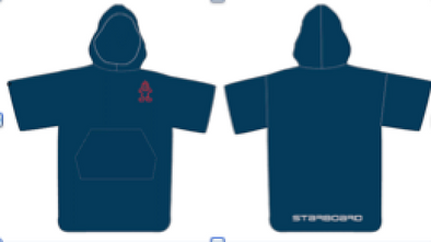 2019 STARBOARD PONCHO TOWEL - NAVY BLUE