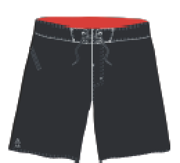 2019 STARBOARD MENS ORIGINAL BOARDSHORTS - BLACK - 32 -  TEAM