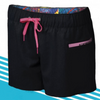 2019 STARBOARD WOMENS ORIGINAL BOARDSHORTS - BLACK -  S - TEAM