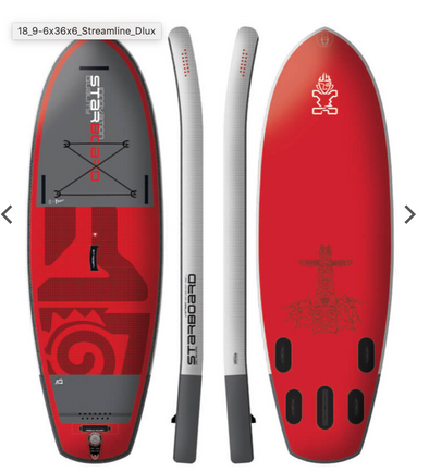 "2018 INFLATABLE SUP 9'6"" X 36"" X 6"" RIVER"