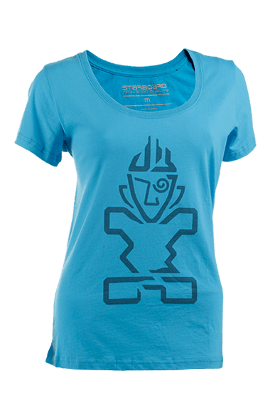2019 STARBOARD WOMENS CRAFT TIKI TEE - NAVY