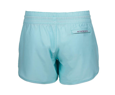 2019 STARBOARD WOMENS SONNI BOARDSHORTS - LIGHT BLUE