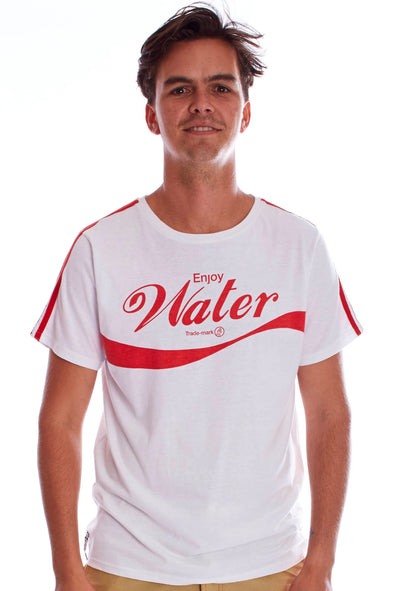 2019 STARBOARD MENS NO STRAW TEE - WHITE