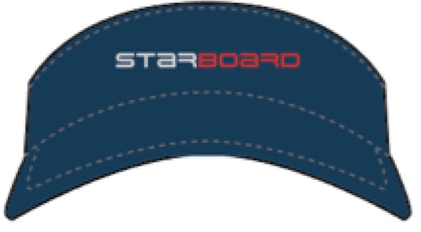 2019 STARBOARD PERFORMANCE VISOR - TEAM BLUE - OSFA -  TEAM
