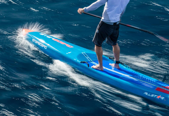 2019 ALL STAR STARBOARD SUP features boxy rail