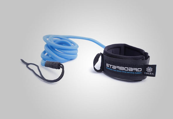 2015 STARBOARD SUP ANKLE CUFF COIL RACE LEASH 6MM – 8 FT