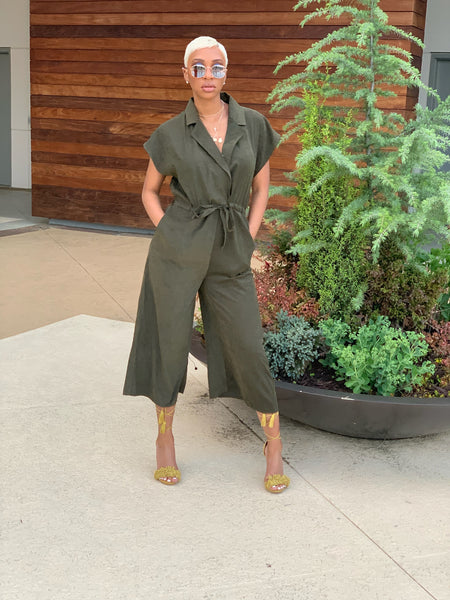 Olive Dreams Jumpsuit