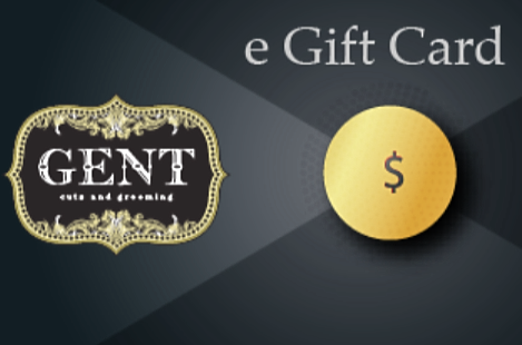 GENT Gift Card-E Mail Delivery