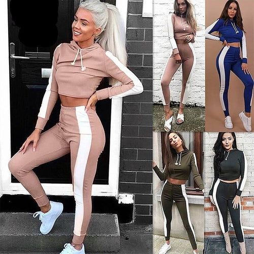 2-Piece Crop Tracksuit