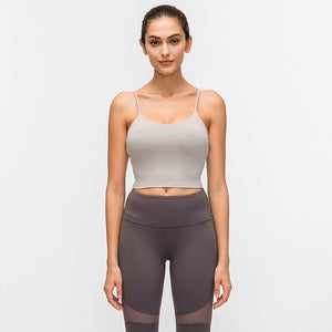 Padded Gym Crop Top